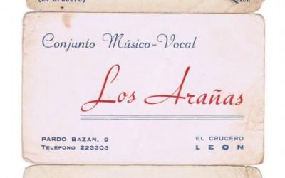TARJETAS PUBLICITARIAS DE LOS ARAÑAS