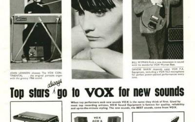 VOX INSTRUMENTOS Y SISTEMA DE AUDIO