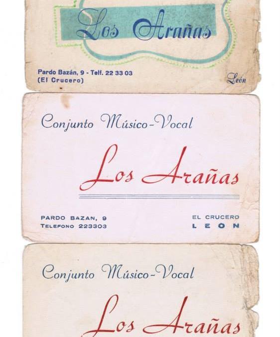 LOS ARAÑAS, TARJETAS PUBLICITARIAS